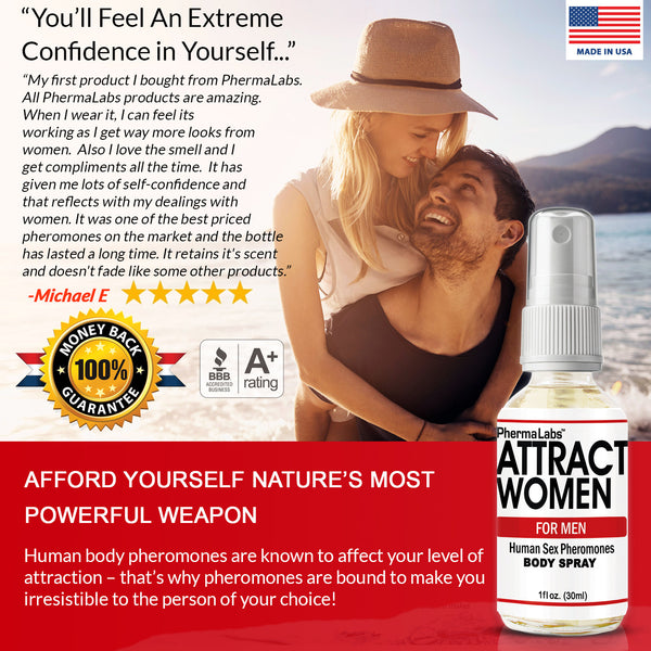Attract Women Body Spray