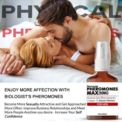 Pheromones Max Attract Women (60mg) Cologne