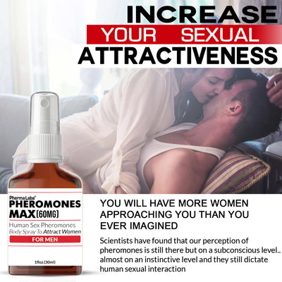 **Body Spray** Pheromones Max Attract Women (60mg)