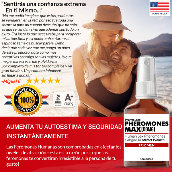 Pheromones Max (60mg) Colonia