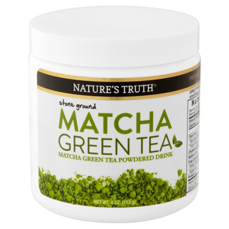Nature's Truth Matcha Green Tea Powder, 4.0 Oz