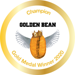 Gold Stickers 2020 for Golden Bean