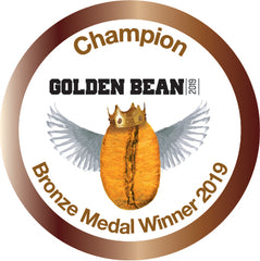 Bronze Stickers 2019 for Golden Bean
