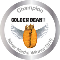 Silver Stickers 2019 for Golden Bean