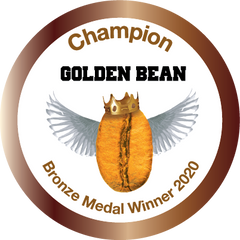 Bronze Stickers 2020 for Golden Bean