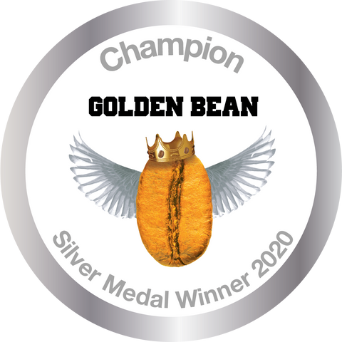 Silver Stickers 2020 for Golden Bean