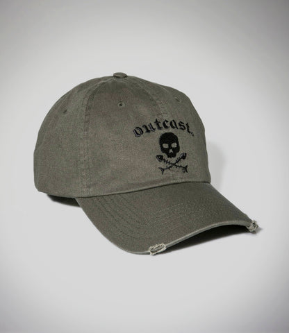 Outcast Khaki Baseball Cap SOLD OUT