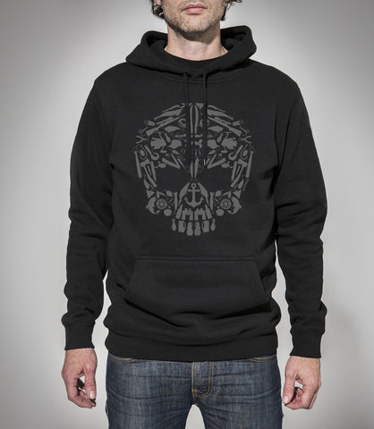 Outcast Skullements Hoodie SOLD OUT