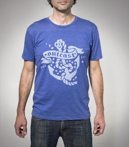 Outcast Anchor Mens Tshirt LIMITED STOCK - 13 LEFT!