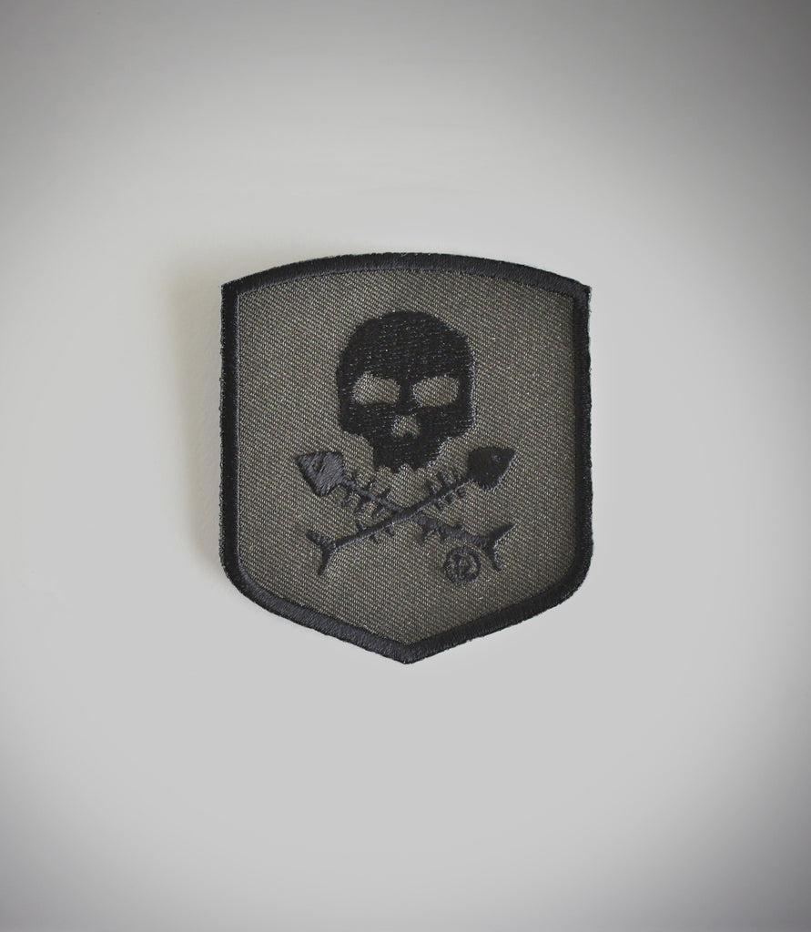 Outcast Skull and Fishbones Patch