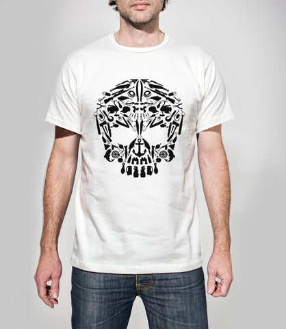 Outcast Skullements Tshirt LIMITED STOCK - 3 LEFT!