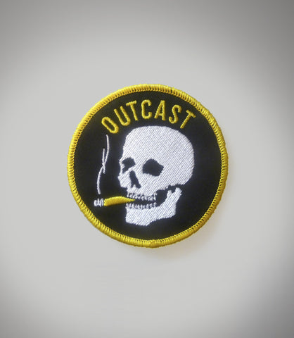 Outcast Smokin' Skull Patch SOLD OUT