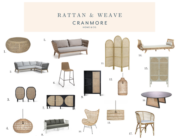 Rattan and Weave Outdoor and Indoor Furniture