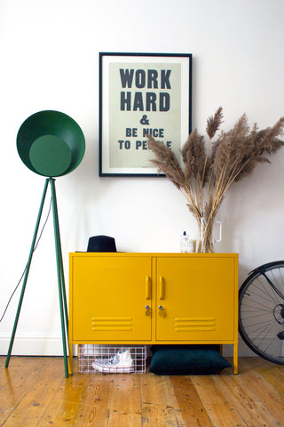 Lowdown in Mustard Design