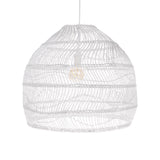 Wicker Round pendant white