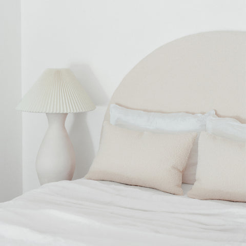 BEDHEAD | Arc Boucle Ivory by McMullin & Co.