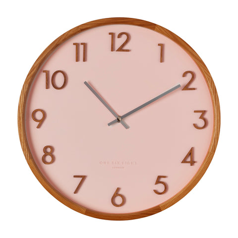 WALL CLOCK | Scarlett Blush by One Six Eight London