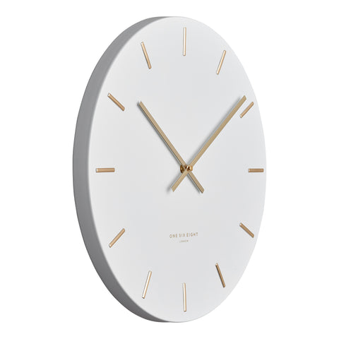 WALL CLOCK | Luca White by One Six Eight London