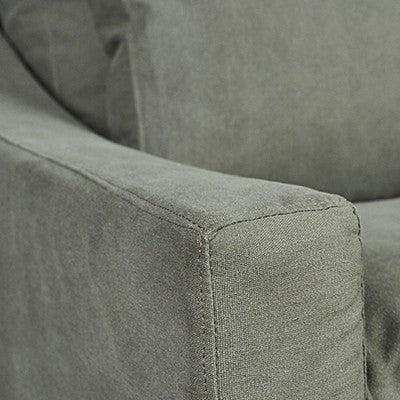 SOFA | Irving Merricks 3 seater in Forest by Canvas and Sasson