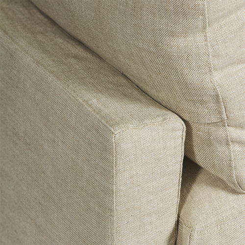 SOFA | Irving Merricks 3 seater in Oatmeal by Canvas and Sasson