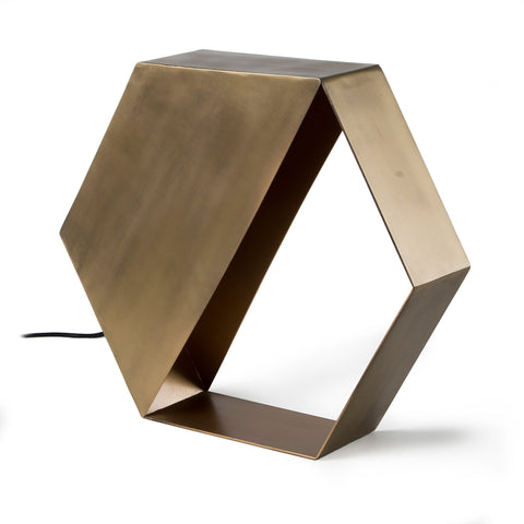 TABLE LAMP | Bern metal brass by Cranmore Home & Co