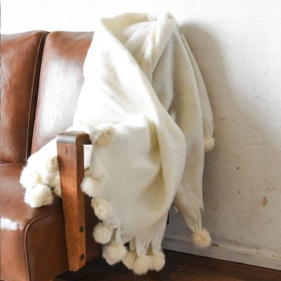 THROW | Anouk Pom Pom by Collective Sol