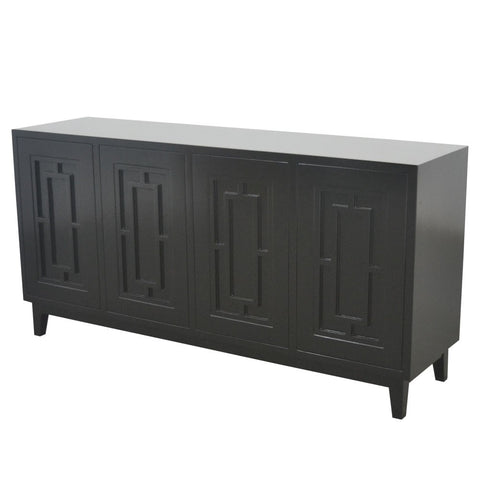 BUFFET | Greenwich | Art Deco | Black by Henry & Oliver Co