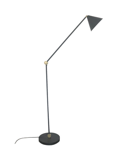 FLOOR LAMP | Augie black by mrd home