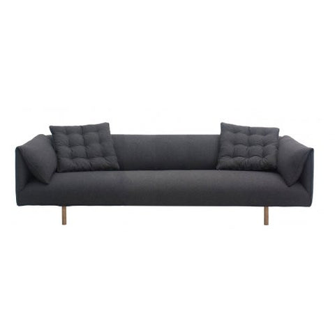 SOFA | axis design in charcoal felt