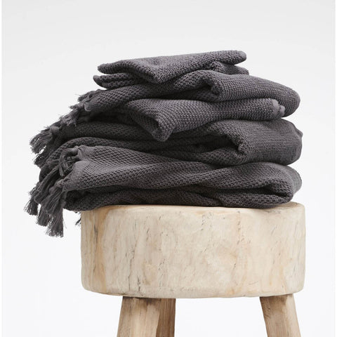BATH TOWEL | charcoal by cloth + co