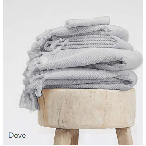 BATH TOWEL | dove grey by cloth + co