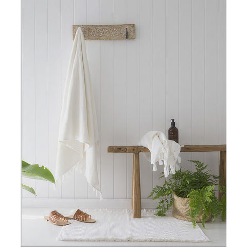 BATH TOWEL | white by cloth + co