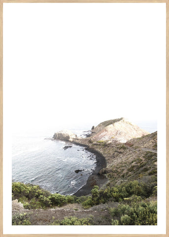 ART PRINT | Beach Cove by Blackhaus Studios