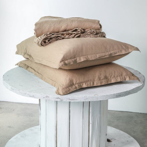 SHEET SET | Chestnut linen by bedtonic