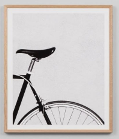 ART PRINT | Bicycle Grey