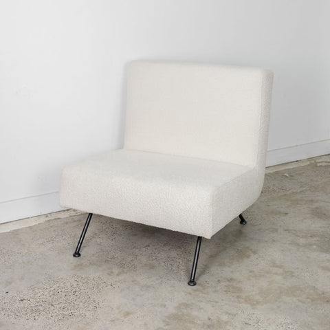 OCCASIONAL CHAIR | Bernard in Boucle Ivory by McMullin & Co.
