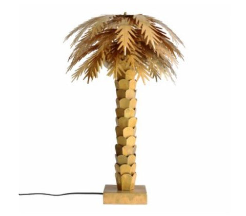 TABLE LAMP | Brass Palm by HK LIVING