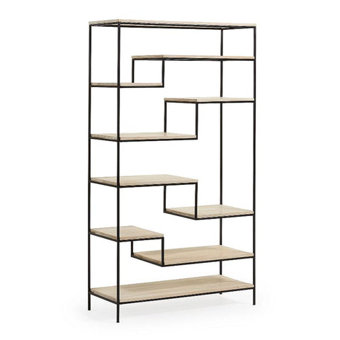 BOOKCASE | Pyke Black by Cranmore Home & Co