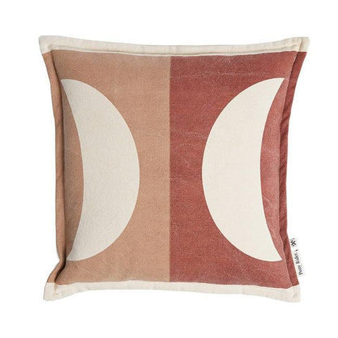 CUSHION | Moonrise Plum Desert Donkey design by pony rider