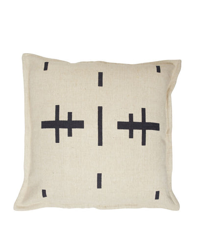 CUSHION | Commune Natural/black design by pony rider
