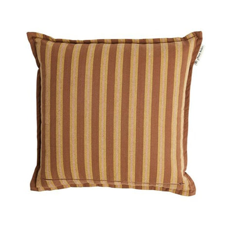CUSHION | Safari Stripe Rusty Desert design by pony rider
