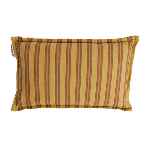 CUSHION | Lil Safari Stripe Golden Tan design by pony rider