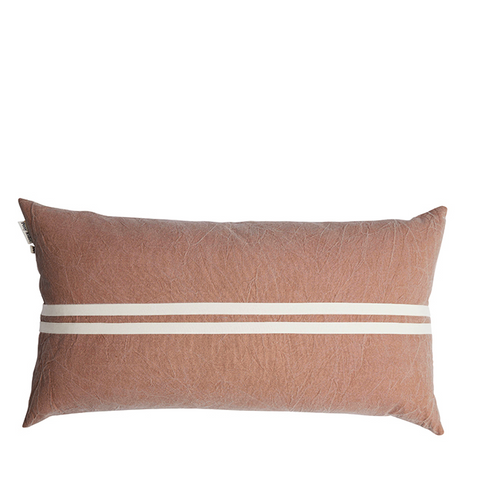 CUSHION | Wanderful Pumice/Oats design by pony rider