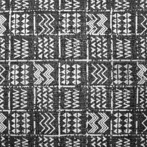 RUG | Mudcloth Tribal Rug Charcoal By Collective Sol