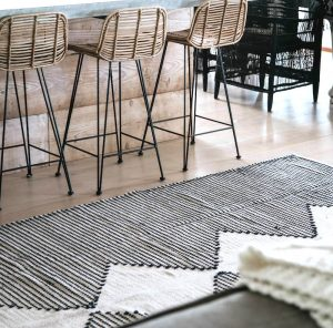 RUG | Evie Rug Black By Collective Sol