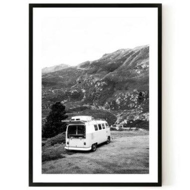 ART PRINT | Camper 2 by Blackhaus Studios