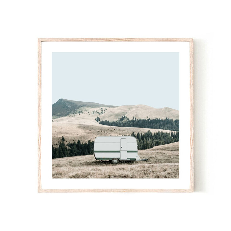 ART PRINT | Caravan 3 by Blackhaus Studios