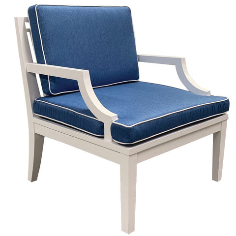 CHAIR | Catherine Hampton Chair | Blue or Grey by Henry & Oliver Co.