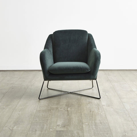 OCCASIONAL CHAIR | Charlotte Velvet by Tallira