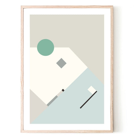 ART PRINT | Composition 2 by Blackhaus Studios